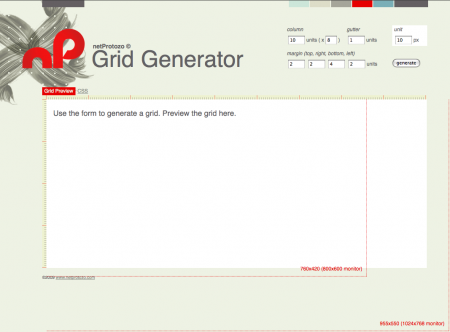 The netProtozo Grid Generator